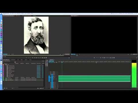 Digital Storytelling Tutorial - Adobe Premiere Pro