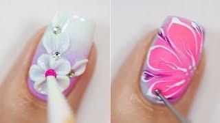 Лёгкий дизайн ногтей 2019 💅 Топ 30 Простые идеи маникюра Модные Тенденции Как сделать маникюр