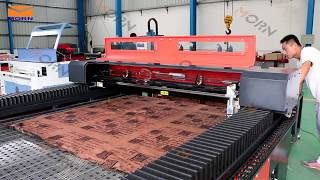 How to use mix laser cutting machine with auto-feeding  both for metal and nonmetals | MORN LASER