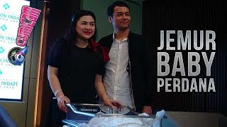 Jemur Baby Bima di Matahari Vicky Shu Ditemani Suami  Cumicam 18 Juli 2018