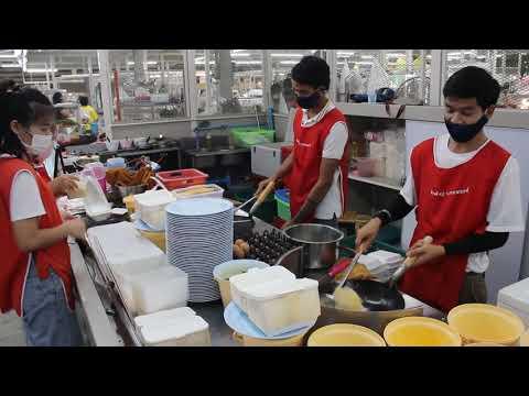 ข้าวผัดปู ก.ราชพฤกษ์ ตลาดพระราม 5 บางกรวย นนทบุรี - ไทยสตรีทฟู้ด