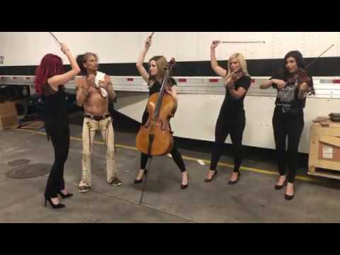 Aerosmith Vegas Backstage — Dream On with Strings