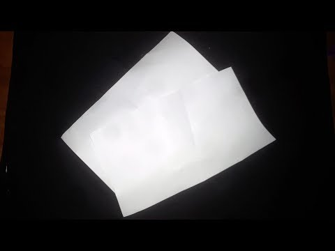 Tear And Restore Paper Trick