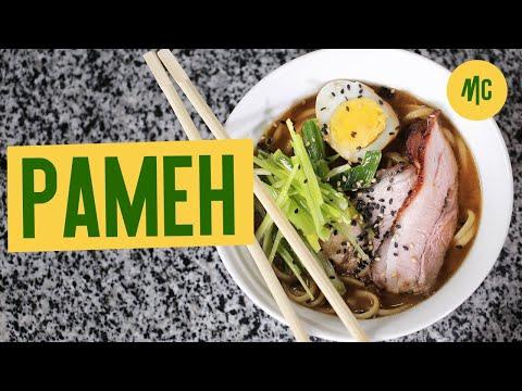 Рамен | Как Приготовить Рамен как в Японии | Бульон и Лапша для Рамена +12
