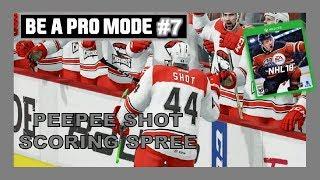 GOALS ON GOALS ON GOALS! - EPISODE # 7 - BE A PRO NHL18 - QUINNBOYSTV