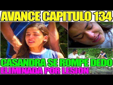 AVANCE EXATLÓN MEXICO CAPITULO 134 CASANDRA ELIMINADA POR LESION SE ROMPE DEDO LUNES 1 MARZO
