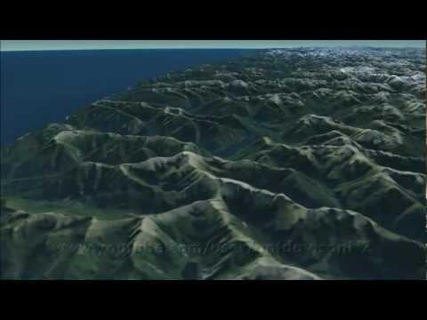 maps - NZ - virtualNZ - Landsat 2012 - HD