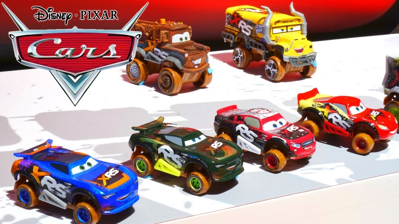 Disney Cars New Xrs Drag Racers Radiator Springs Playsets And Mack