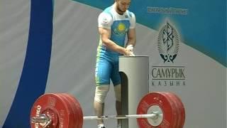 Чемпионат Казахстана по тяжелой атлетике 2016 (ролик. автор Федоров).