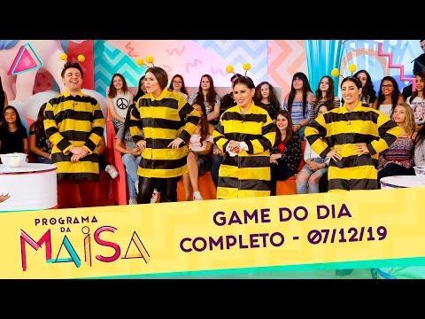 game-do-dia-|-programa-da-maisa-(07/12/19)