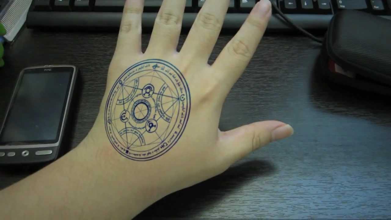 Lightning Alchemist Tattoo Youtube