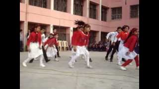 Jai ho dance performance Kendriya Vidyalaya, Pushp Vihar, New Delhi
