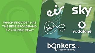 Which provider has the best broadband, TV and phone bundle?