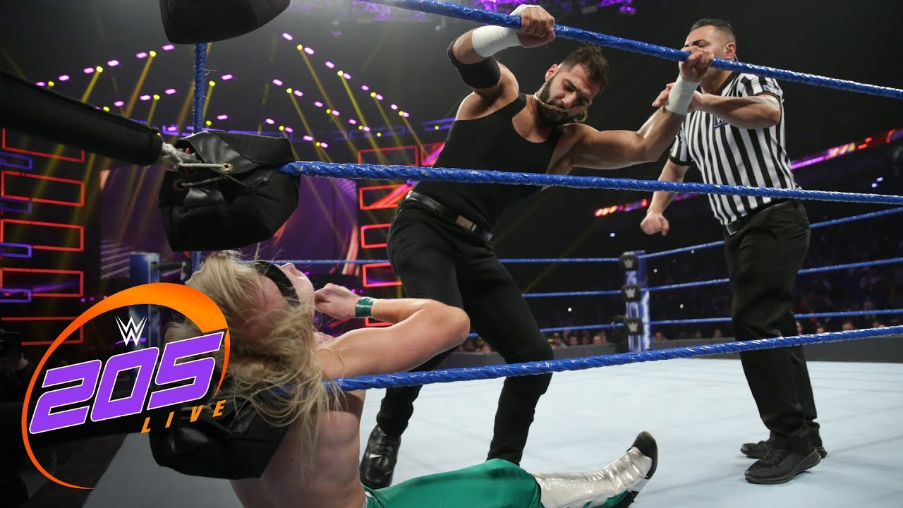 Ariya Daivari vs. local competitor: WWE 205 Live, Feb. 19, 2019