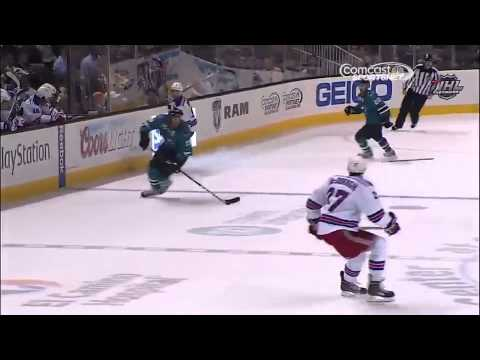 A closer look at Tomas Hertl's four goal game 10/8/13