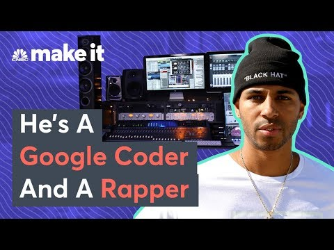 How This Google Engineer Went From Homeless Teen To Rapper And Coder