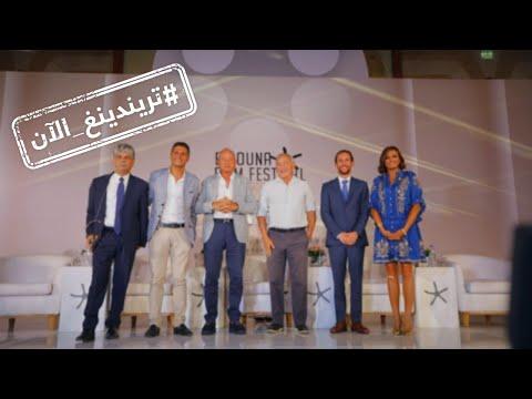 الريش يسيطر على فساتين مهرجان الجونة السينمائي  - 18:55-2019 / 9 / 20