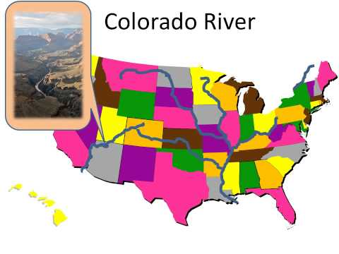 Geography  United States Rivers