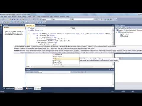 Cara Membuat Konversi Suhu Menggunakan Visual Basic