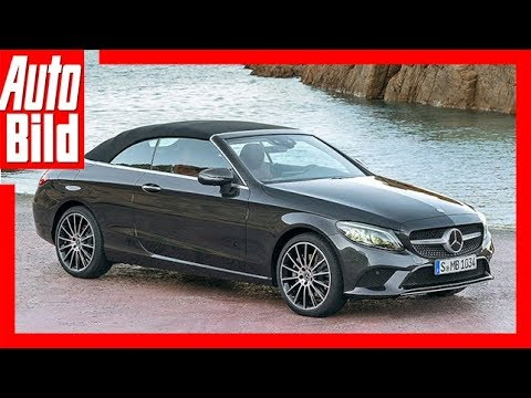 mercedes c klasse coup cabrio facelift 2018 details. Black Bedroom Furniture Sets. Home Design Ideas