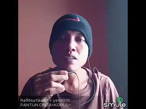 Pantun cinta  Yeni vs Rafli suara emas😂😂😂