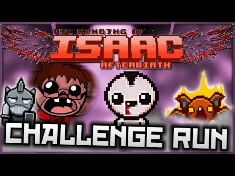 The Binding of Isaac: Afterbirth - Have a Heart! (Challenge Run)
