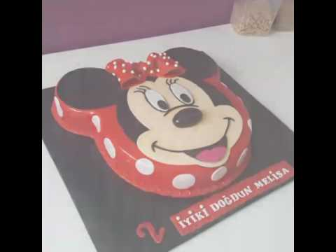 minnie mouse torte minnie mouse pasta kindergeburtstags. Black Bedroom Furniture Sets. Home Design Ideas
