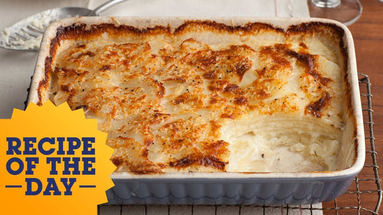 Recipe of the day creamy scalloped potato gratin food network recipe of the day creamy scalloped potato gratin food network forumfinder Choice Image