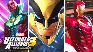 Marvel Ultimate Alliance 3 - Announcement Trailer Breakdown!