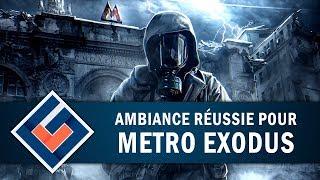 METRO EXODUS: Une ambiance réussie ! | GAMEPLAY FR