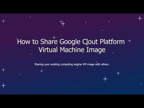 How to Share GCP Images with Other Users and Projects