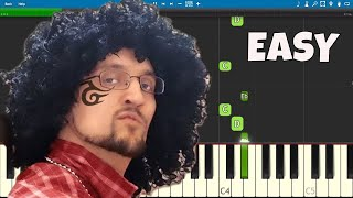 Fortnite Better Give Me My Kids Back EASY Piano Tutorial - FGTeeV
