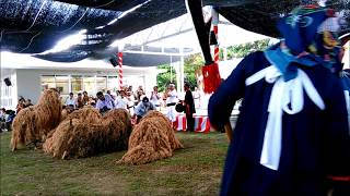 波照間島ムシャーマ2017 獅子舞 全組