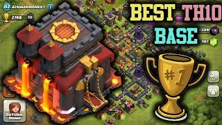 BEST TH10 Farming Base! | CoC NEW Town Hall 10 Defense Strategy! | Clash of Clans