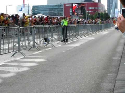 Julian Dean in the Tour de France Prologue 03-07-2010 Rotterdam
