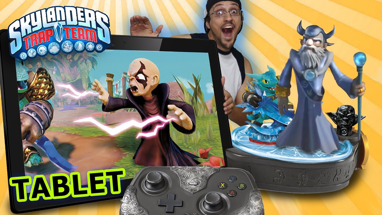 Skylanders Trap Team Tablet Starter Pack Hands On Demo