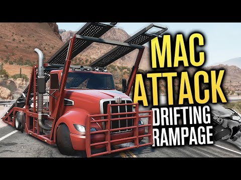 DRIFTING THE MAC ATTACK?! | Need For Speed Payback Mods (4K)