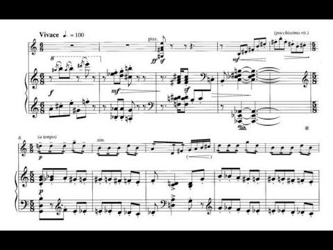 Grażyna Bacewicz - Humoresque for violin and piano (audio + sheet music)