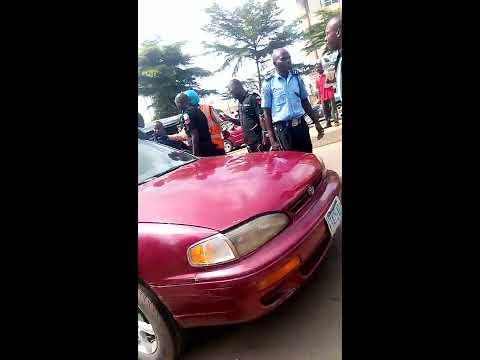 Nigerian police constable uniform