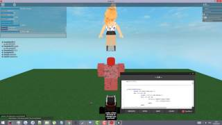 Trolling On VoidAcity's script builder ROBLOX
