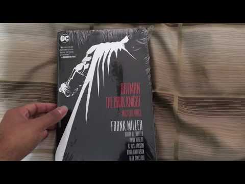 Dark Knight lll: The Master Race Hardcover Unboxing (DK3)