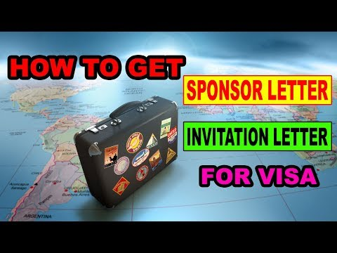 How To Get Sponsor Letter [ Invitation Letter ] for Visa Urdu/Hindi 2018 BY PREMIER VISA CONSULTANCY