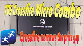 TBS Crossfire Micro Combo Pack. TBS Narrows the Price Gap with FrSky R9