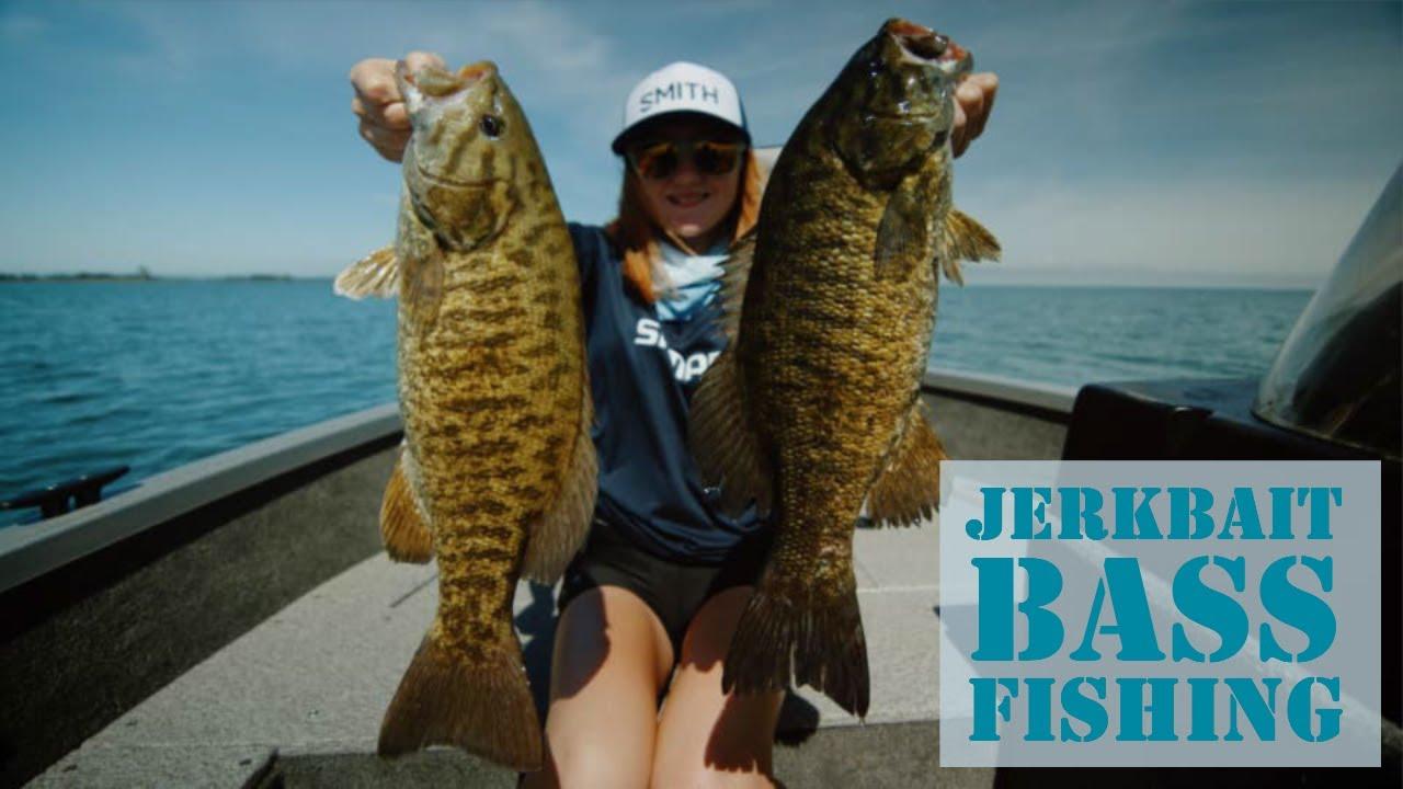 Lake Erie Jerkbait Smallmouth Bass Fishing - The Jackall Rerange