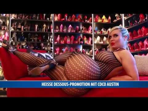 Heiße Dessous-Promotion mit Coco Austin