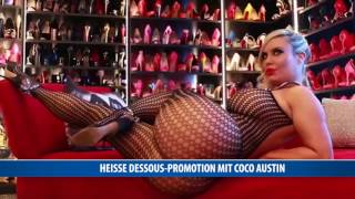Heiße Dessous Promotion mit Coco Austin