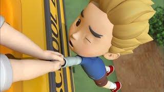 Робокар Поли - Правила дорожного движения (серия 24) - Ремни безопасности в автобусе