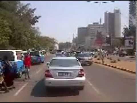 Road trip Kafue to Lusaka, Zambia
