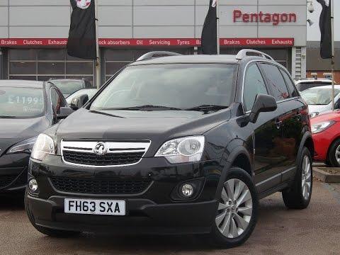 FH63SXA Vauxhall Antara 2.2 CDTi Exclusiv 5dr Start Stop