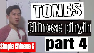 Simple Chinese 6 Introduction to Chinese pinyin part 4 tones